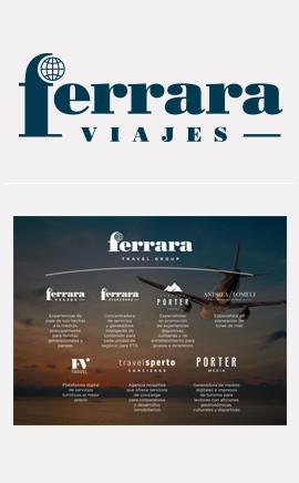 Identidad anterior | Ferrara Travel